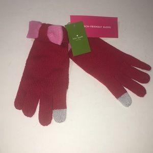 Kate Spade New York Glove w/ Colorblock Bow Charm